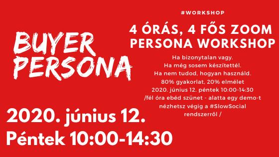 Buyer Persona Workshop - június 12-én Online